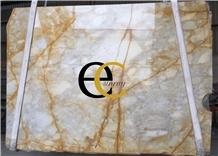 Italy Giallo Siena Yellow Gold Marble Slabs Tiles