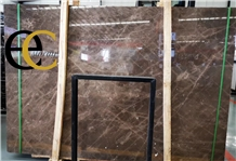 Italy Pietra Brown Marble Slabs & Tiles