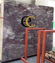Northern Spring Purple Rose Marble Slabs Tiles