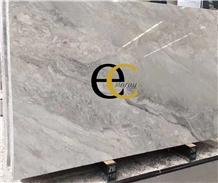 Palladion Light Silver Grey Marble Slabs & Tiles