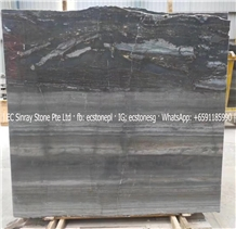 Paris Wood Grain Dragon Marble Slabs & Tiles