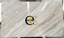 Qamar Pearl White Marble Slabs & Tiles