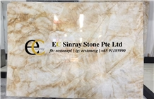 Spain Exotic Gold Marble Slabs & Tiles