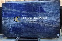 Turkey Bursa Deep Blue Marble Slabs & Tiles