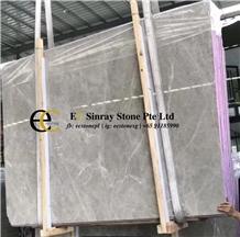Turkey Likya Grey Marble Slabs & Tiles