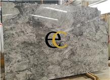 Turkey Silver Shadow Grey Marble Slabs & Tiles