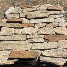 Yellow Rusty Ledge Loose Stone Calddings Venners