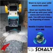 Mobile Crusher Stones - Eco 300- Pebble Stone Machine