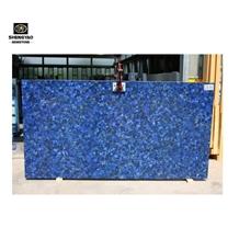 Blue Lapis Lazuli Slab Semiprecious Wall Tile