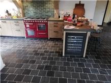 Vietnamese Lava Stone Sanded Kitchen Floor