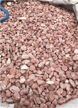 Red Marble Pebbles