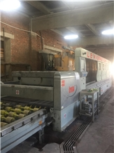 Polishing Line Breton Kg 3000 - (13 Heads) 2005 Year , Very Good Condition Used Polishing Machine