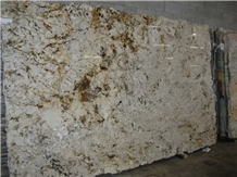 Crema Blandus Granite Slabs, Tiles