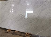 Bianco Carrara White Marble Slab Decor Covering