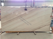 Palisandro White Marble Slab Wall Covering Tiles