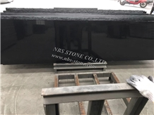 Stained Blackboard Black Granite Slabs