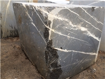 Montana Ice Grey Marble Block