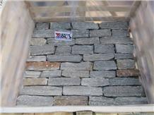 Black Quartzite Exterior Wall Cladding Decor