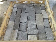 Blue Quartize Castle Rock Panel Corner Stone