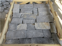 China Split Blue Wall Corner Stone for Cladding