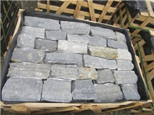 Crazy Size Blue Quartzite Wall Cladding Stone