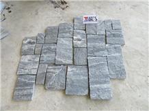 Grey Quartize Castle Loose Stone Panels Corner