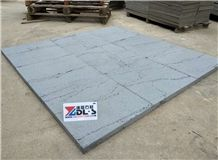 Lava Stone with Ants Line, Chinese Grey, Sawn Cut
