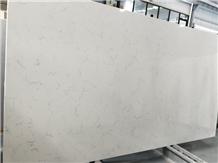 Middle Carrara White Artificial Quartz Stone Slabs