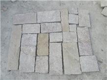 Sesame Yellow Stone Wall Cladding Decor Tiles