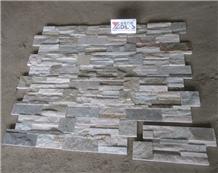 Stock Yellow Wood Quartzite Stacked Stone Veneer