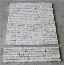 White Quartzite Feature Wall for Wall Decor