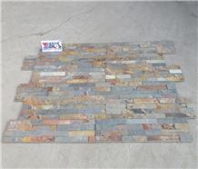 Yellow Rust Slate Split Cultured Stone Veneer