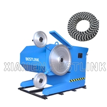 Diamond Wire Saw Marble Granite Block Machine