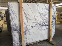 Calacatta Viola White Marble Slabs&Tiles,Lilac