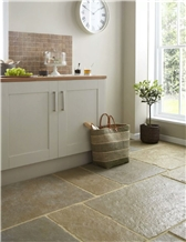 Umbrian Limestone Tiles for Flooring, Walling