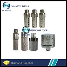 Brazed Diamond Finger Bits Drum Wheel