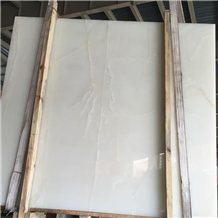 Pure White Onyx Slab,Snow White Onyx Tile Slab