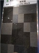 Aerolite Black Granite Slabs,Tiles