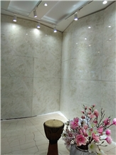 Moon Lotus White Marble Slabs,Tiles