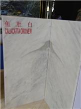 New Calacatta Oro Marble Slabs,Tiles