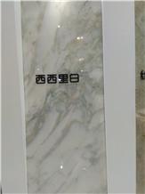 Sicilia White Marble Slabs,Tiles