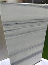 Snowflake Wood Grain Marble Slabs,Tiles