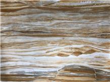 Champagne Golden Sun Marble Slabs & Tiles