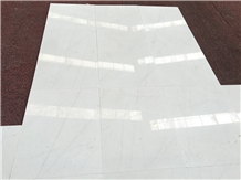 China Bianco White Marble Tiles for Floor Covering