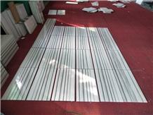 China Marmala White Marble Bathroom Flooring Tiles