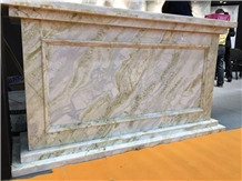 Chinese Blue Moon River Marble Table Top