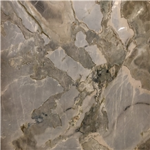 Nature Gold Nuvolato Etrusco Slab for Project