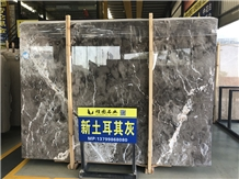 New Turkey Cyprus Grey Marble Tiles
