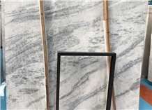 Polished Aus White Marble Slab & Tiles