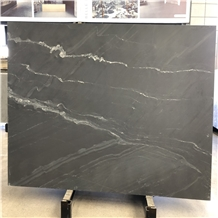 Polished Noir St. Laurent Marble Stone Slabs Tiles